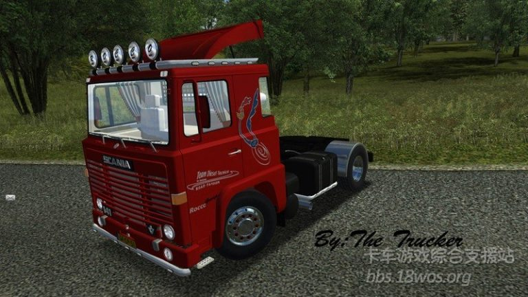 1978 Scania 141 Rocco 4x2 for GTS