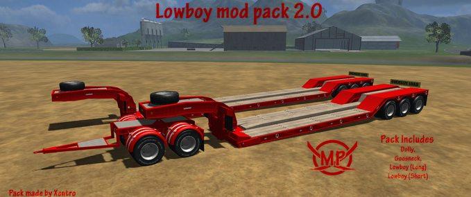 Lowboy mod pack | Farming simulator 2011, FS 2011 Trailers