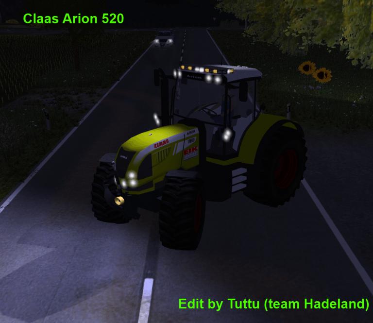 Claas Arion 520 EIK Edit