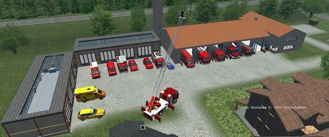 Mercedes Benz Atego DLK 23 12 Mod for Farming Simulator 2011