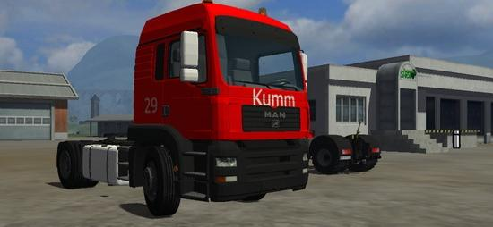 Scania R580 Red Edition