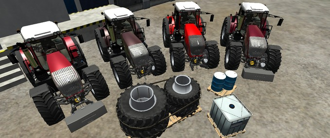 Fendt Vario 936 Special Edition of TIF & ModHoster team workshop v 1.0 Edition Rot