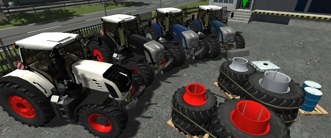 Fendt Vario 936 Special Edition of TIF & ModHoster team workshop v 1.0 Sonderlackierungen Black & White