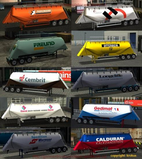 Trailers cement for GTS_UKTS 05