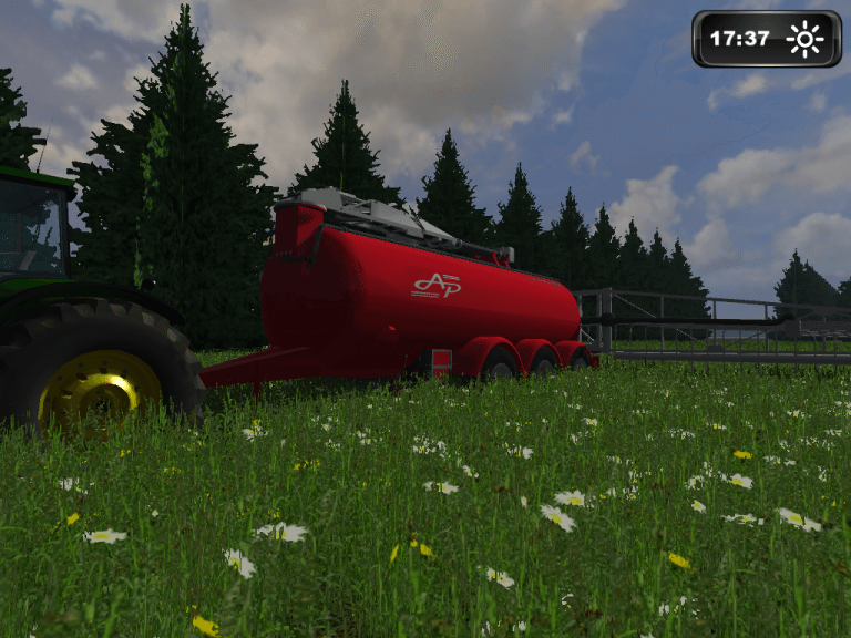 AP25T Slurrytanker