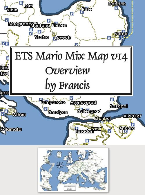Overview for ETS Mario Mix Map v14