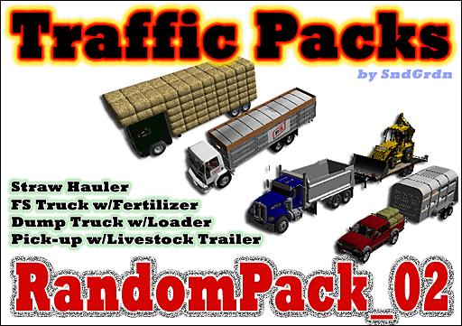 Traffic Packs - RandomPack_02 - SndGrdn