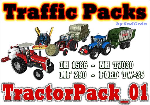 Traffic Packs - TractorPack_01 - SndGrdn