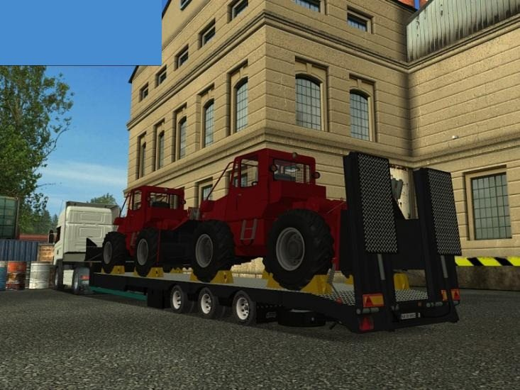 Trailer with 2 taf`s