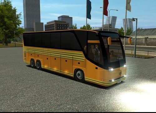 Sity bus euro truck