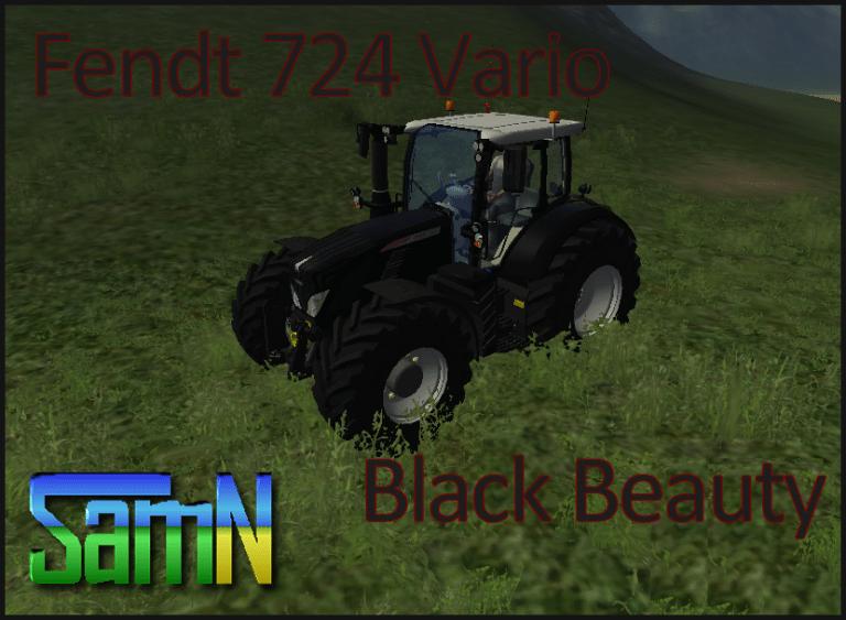 Fendt 724 Vario Black Beauty by SamN