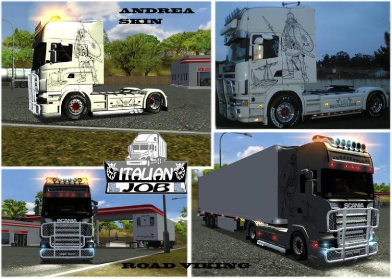 Scania R620 Road Viking