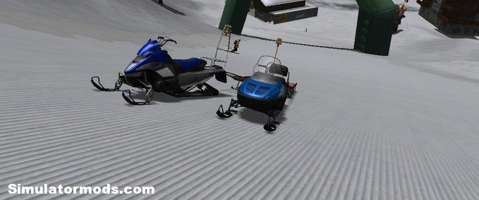 Snowmobile mit RUL