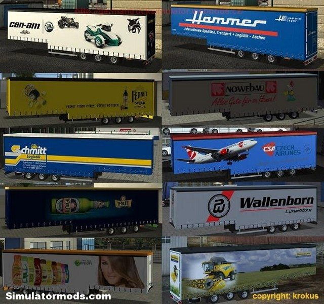 Trailers container for GTS_UKTS 08
