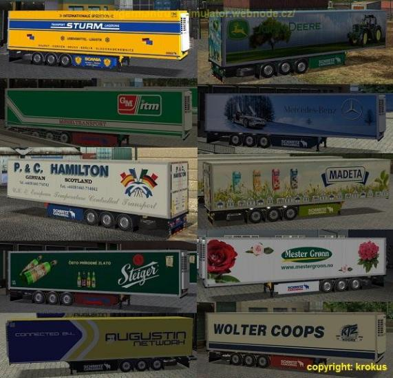 Trailers reefer for GTS/ATS and UKTS