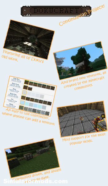 Dokucraft The Saga Continues Minecraft 1.2.5 Dokucraft, The Saga Continues [Minecraft 1.2.5]