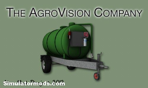 Fuel trailer farming simulator 2017 17 mods ats mods for Cuve fuel exterieur