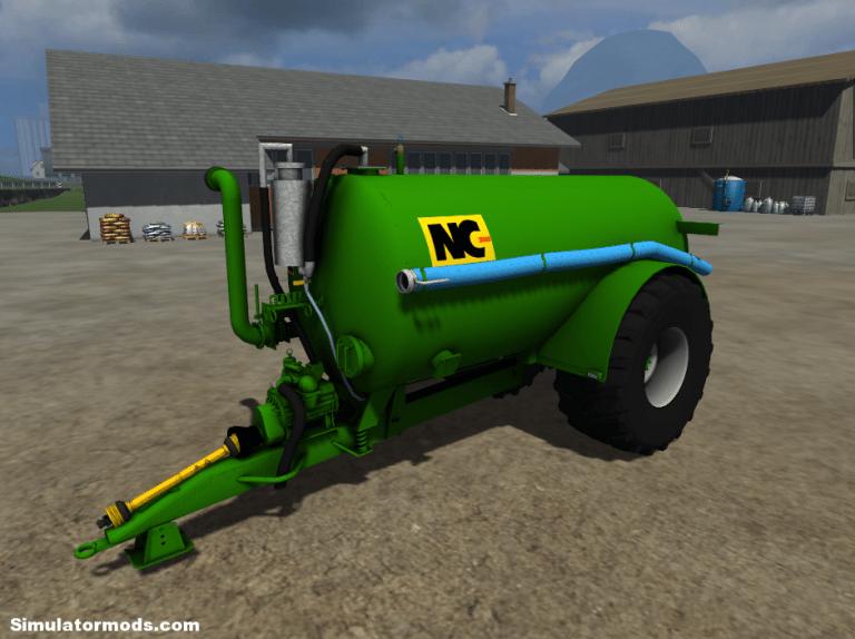 NC 2050 Slurry Tanker