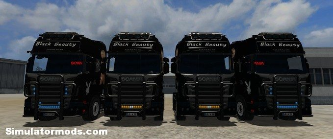 Scania R560 - Black Beauty v3.0