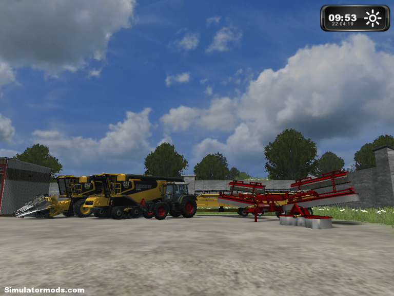 CAT Lexion multifruit pack