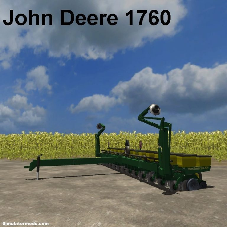 John Deere 1760 12 row planter V 1.2