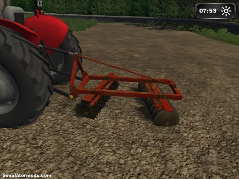 Small Disk Harrow