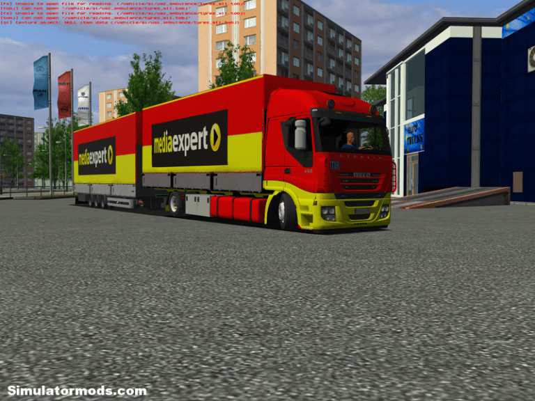 Iveco Stralis BDF Media Expert skin by Mr. Zajc Iveco Stralis BDF Media Expert skin by Mr. Zajc