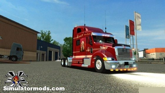 Peterbilt 387 Custom Indian Peterbilt 387 Custom Indian