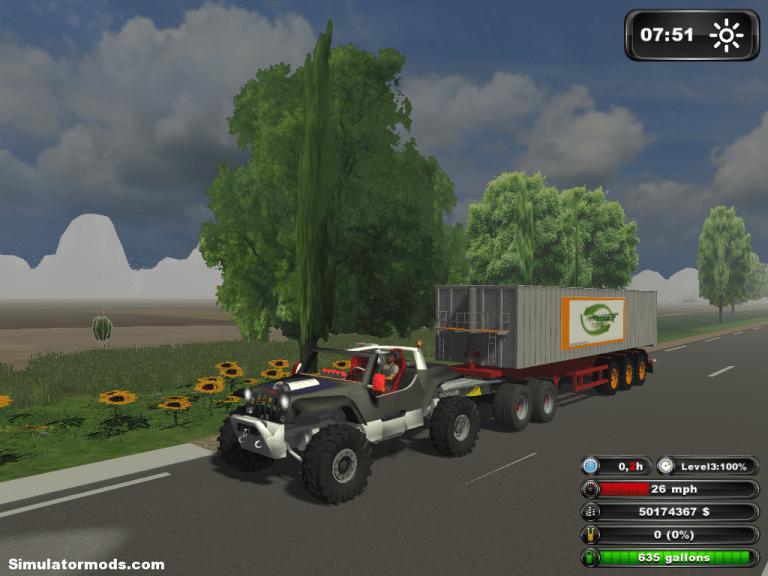 HAMI hurricane jeep