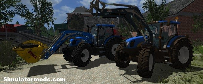Farming Simulator 2013 New Holland New Holland Ts135a « Farming