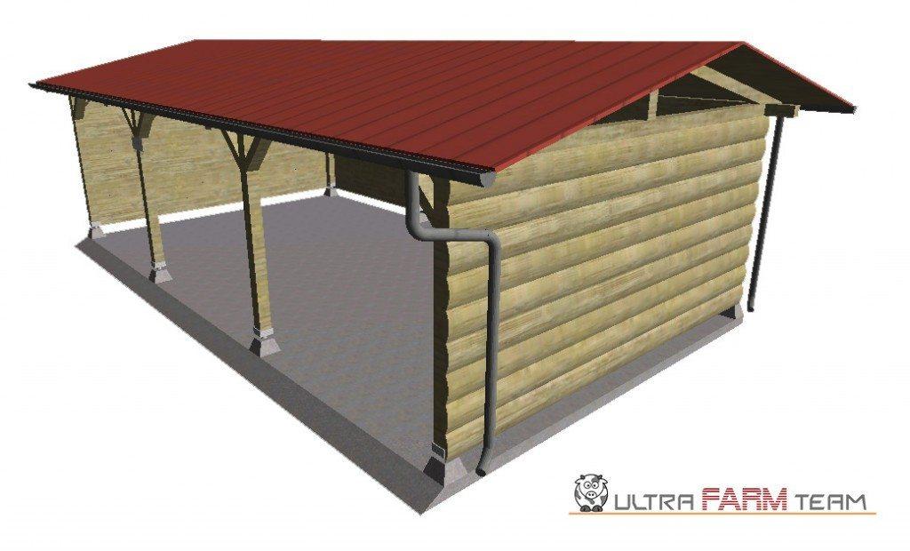 Ферма для гаража