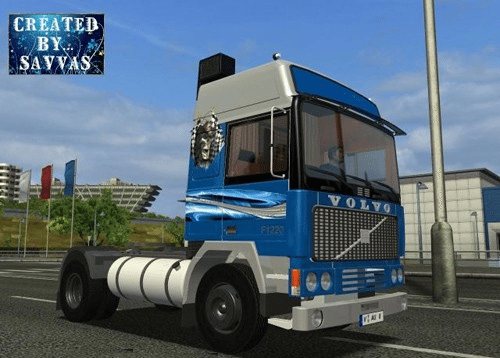 Volvo f12 Blue Force