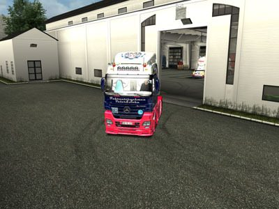 MB Actros 1844 MP2 Megaspace Tuning