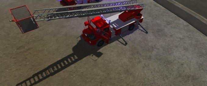 MB1513 DL37K v 1 Feuerwehr Drehleiter