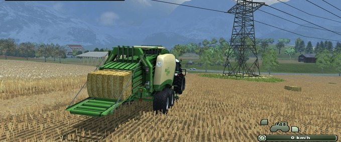 Giants square bales 6 yarn Skin v 1.0