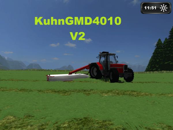 kuhn GMD 4010 V2 mod