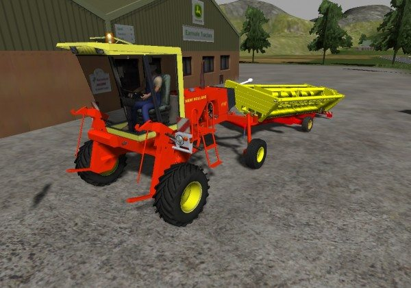 New Holland 1112 Swather Pack mod