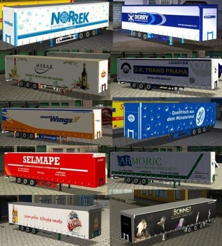 Trailers container for GTS 03