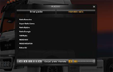Radio stations BALKAN