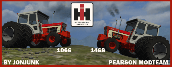 IH Farmalls, 1066, and 1468 mod