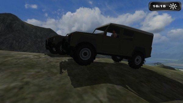 Land Rover Defender 110 mod