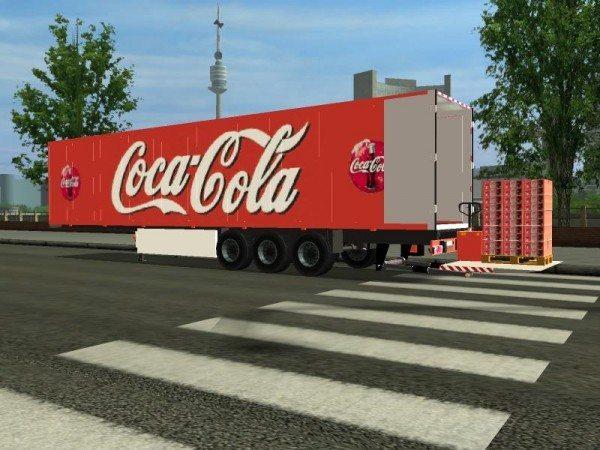 Coca-Cola trailer