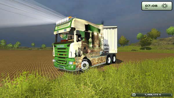 Scania Longline John Deere Tribute v 1.0