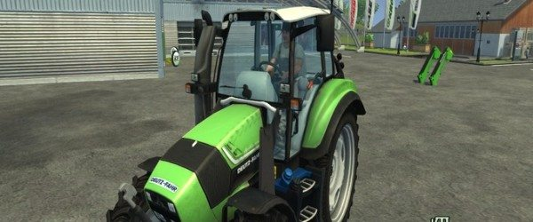 deutz TTV 430 Care Wheels v 1