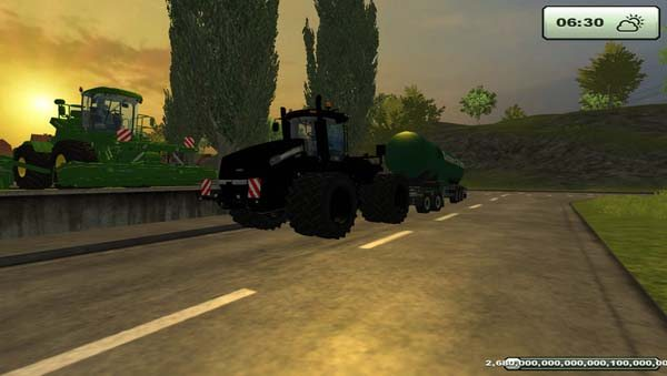 Case IH Steiger 600 Black v 1.0