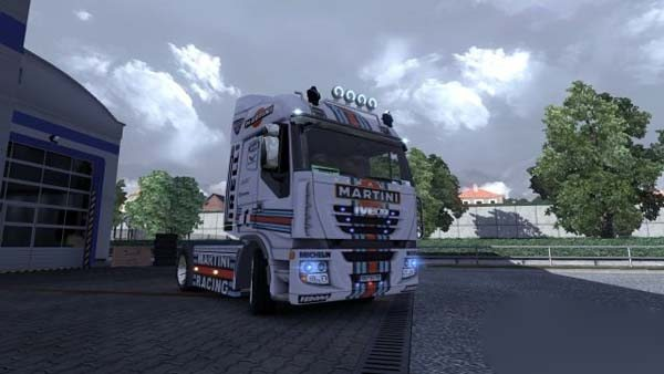 Iveco Stralis Martini Racing skin + interior