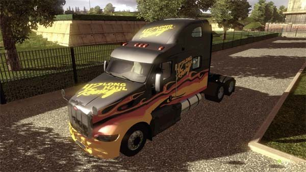 LONG HAUL Racing (Peterbilt 387 skin