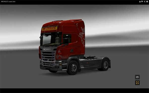 MICHALEC Scania skin