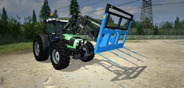 Robert balefork tractor v 2.0