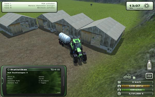 Cow breeding facility v 1.0